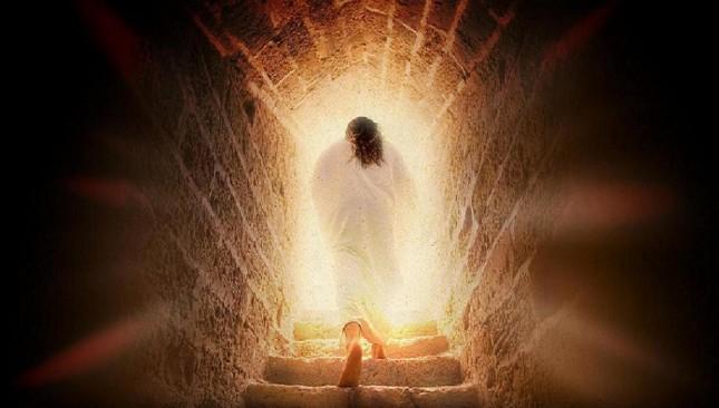 Death Defeated. Jesus Rises Wallpaper