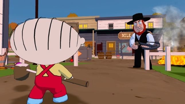 Family Guy: Back to the Multiverse Videogame Stewie Screenshot