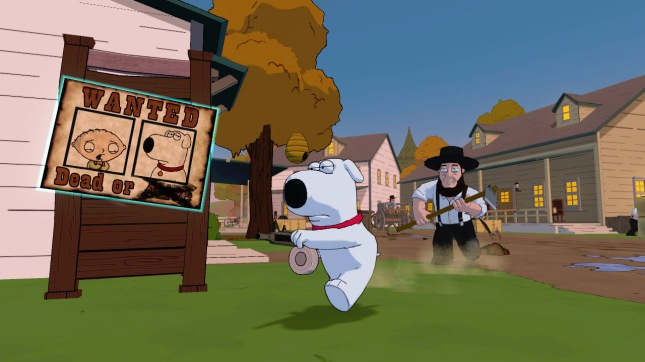 Brian Family Guy Game Back to the Multiverse Gameplay Screenshot