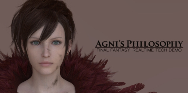 Final Fantasy 15 Agni's Philosophy Artwork