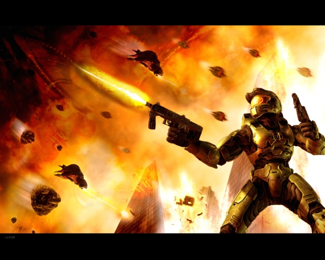 Halo 2 Master Chief Wallpaper by I Got Game
