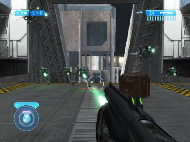 Halo 2 Single Player Screenshot