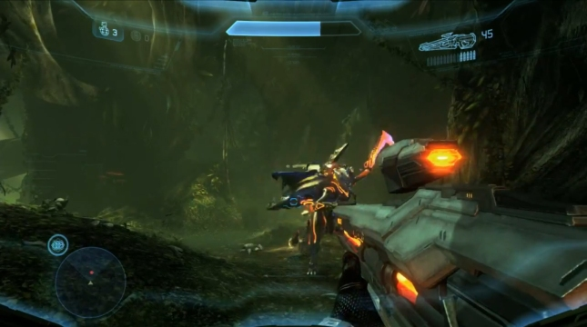Halo 4 Campaign Forerunner Screenshot (Xbox 360)