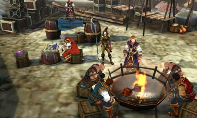 Heroes of Ruin 3DS MMO Screenshot