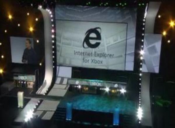 Internet Explorer Browsing Xbox 360