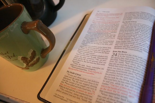 Bible Reading With Coffee - Jesus Has Risen
