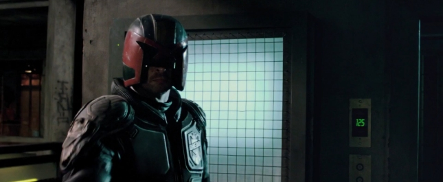 Judge Dredd Is Awesome. 2012 Movie