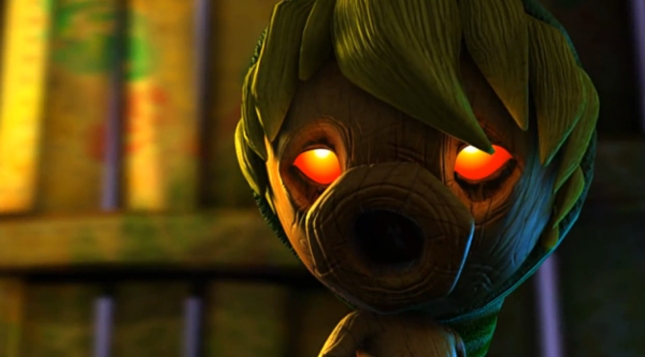 Majora's Mask Deku Link Awesome Artwork