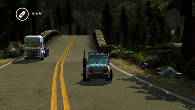 Car Driving Screenshot Lego City: UnderCover (Wii U E3 2012)