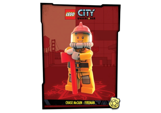 Lego City: Undercover Fireman Artwork