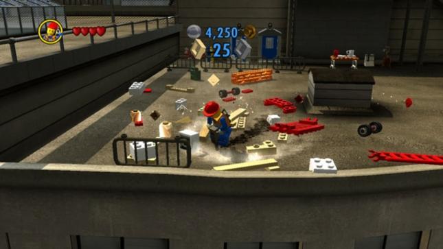 Lego City: Undercover Jackhammering Fireman Costume Item Screenshot (Wii U)