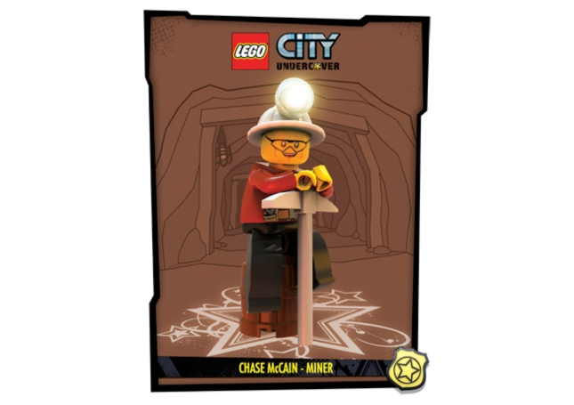 Lego City: Undercover Miner Artwork