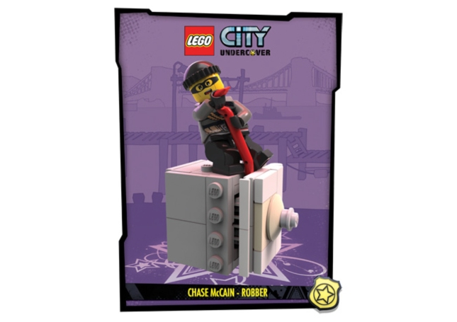 Lego City: UnderCover Robber Artwork