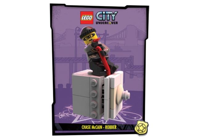Lego City: UnderCover Robber Artwork