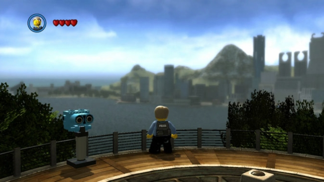 Lego City: UnderCover Screenshot (Wii U). Explore an open-world, sandbox Lego Game!