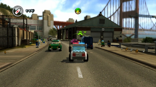 Lego City Undercover Driving Gameplay Screenshot (Wii U)