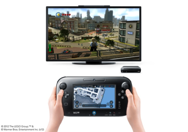 Lego City: Undercover Wii U GamePad Tablet Controller's Touchscreen In Action