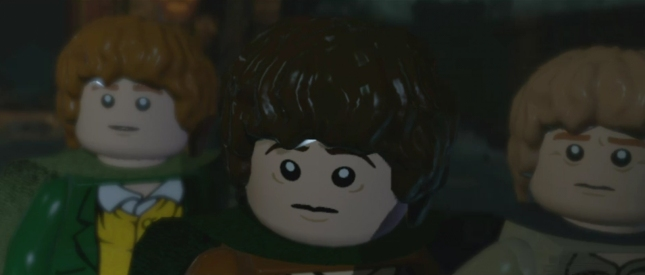 Lego Lord of the Rings Frodo, Sam and Peregin!