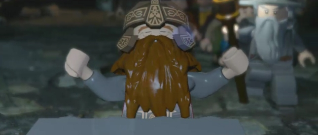 Lego Lord of the Rings Gimli Screenshot