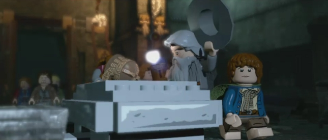 Lego Lord of the Rings Screenshot Wizard Hat!
