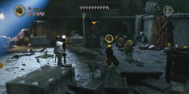Lego Lord of the Rings Gameplay Screenshot
