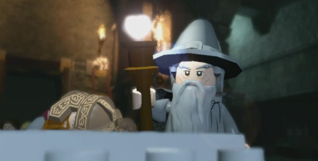 Lego Lord of the Rings Gandalf Screenshot