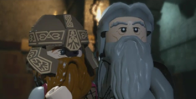 Lego Lord of the Rings Game Screenshot