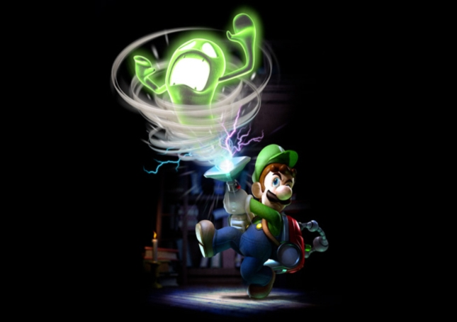 Luigi's Mansion 2: Dark Moon Ghostbuster Awesome Artwork
