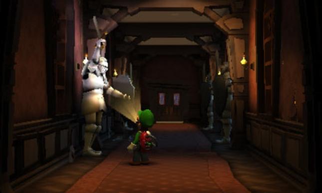 Luigi's Mansion 2: Dark Moon Knight Suit of Armor Screenshot