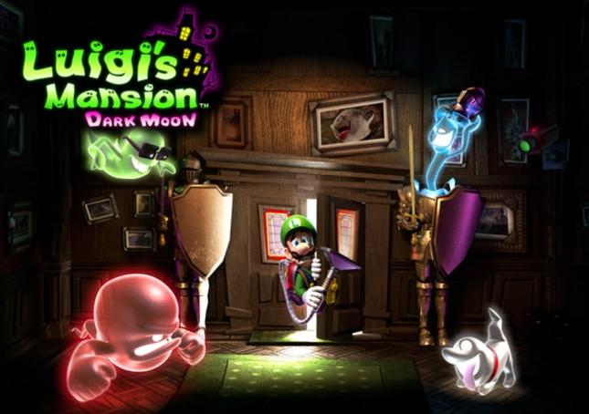 Luigi's Mansion 2: Dark Moon Wallpaper Art