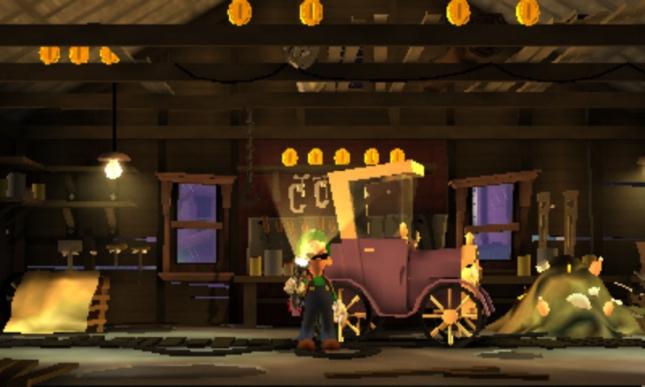 Luigi's Mansion 2: Dark Moon Old Fashioned Truck Screenshot