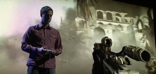Medal of Honor: Warfighter E3 2012 Stage Demo At EA Press Conference