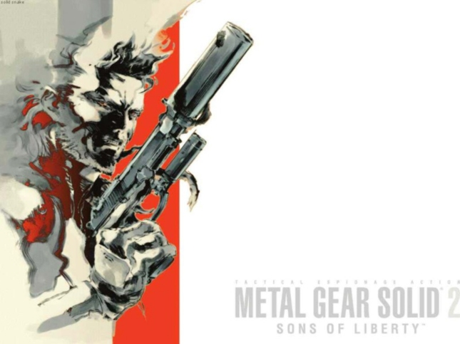Metal Gear Solid 2 Sons of Liberty Wallpaper Snake Artwork From Cover