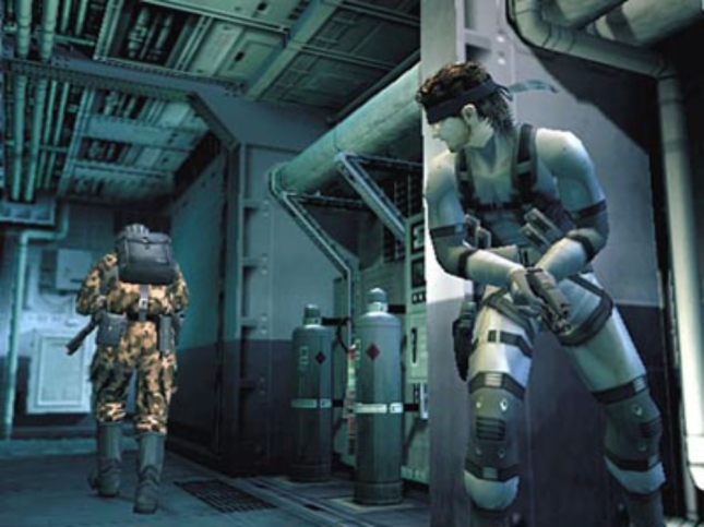 Metal Gear Solid 2 Stealth