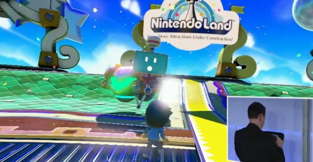 Samus Starship in Nintendo Land. Confirms Metroid Minigame (Wii U E3 2012)