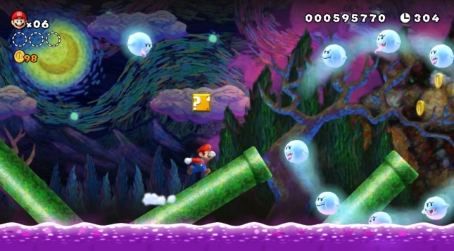 New Super Mario Bros. U Gameplay Screenshot Is Beautiful
