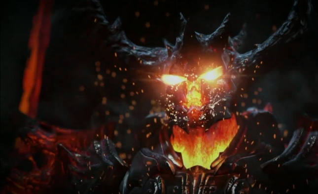 Unreal Engine 4 Elemental Demonic Boss Screenshot