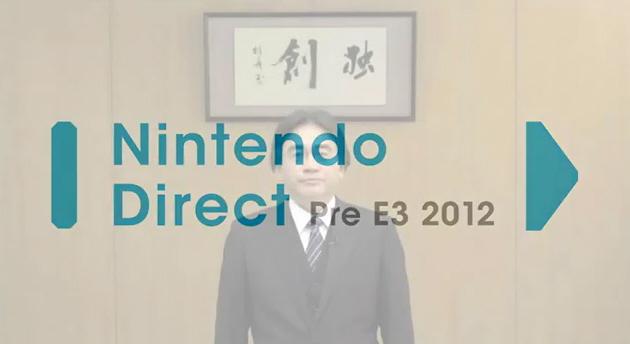 E3 2012 Nintendo Direct Pre-E3 Satoru Iwata Wii U Reveal Video