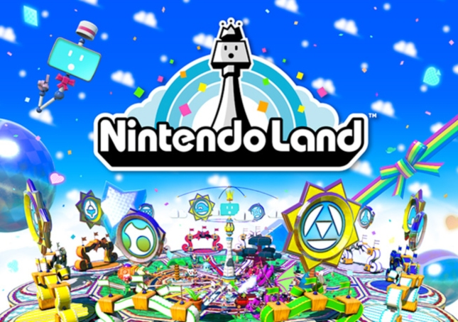 Nintendo Land Wallpaper Art and Logo