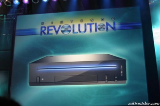Nintendo Revolution Original Wii Codename