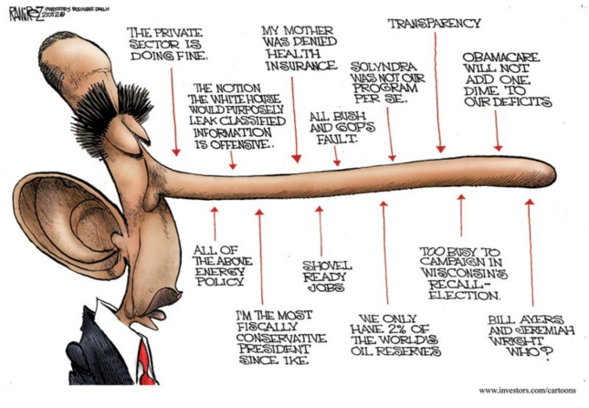 Obama Pinocchio