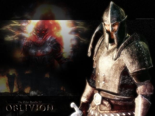 Oblivion Master of the Game Wallpaper