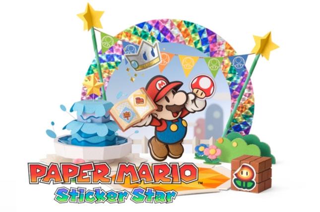 Paper Mario 3DS Sticker Star Art Wallpaper