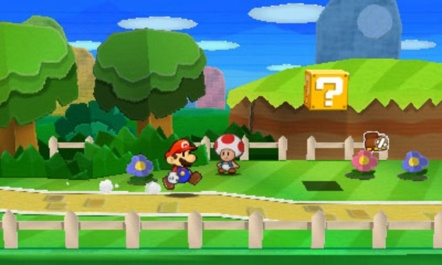 Paper Mario 3DS: Sticker Star TOAD Screenshot! YAY!