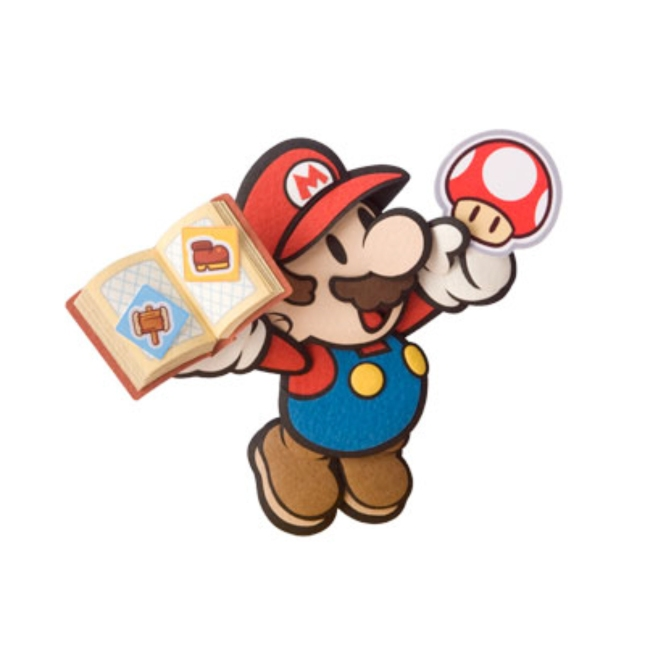 Paper Mario Stickers Art