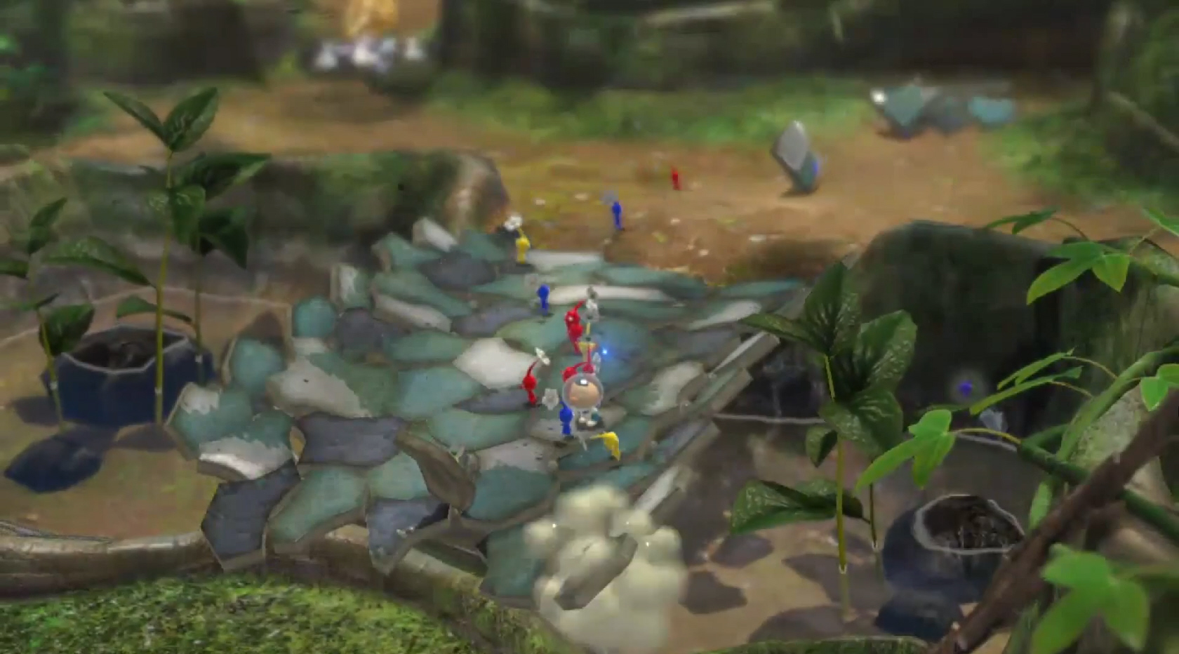 Pikmin 3 Gameplay Wii U E3 2012 Stage Demo Reveals Beautiful World