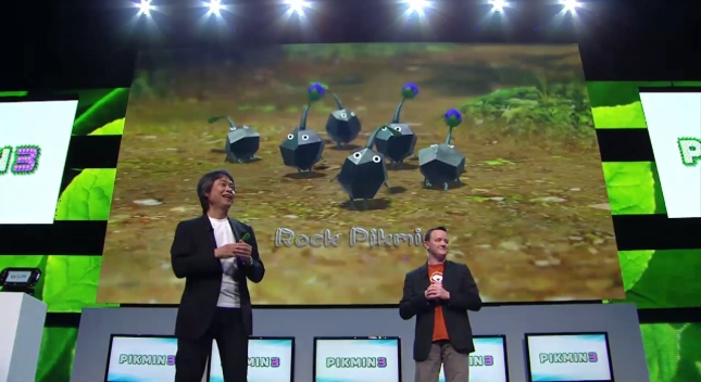 Rock Pikmin in Pikmin 3 from E3 2012