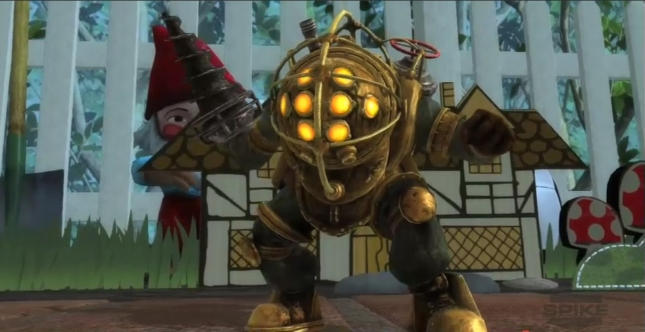 Big Daddy Of Bioshock Fame In PlayStation All-Stars: Battle Royale