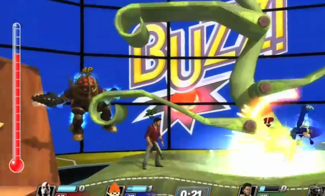 Drake and Big Daddy Together PlayStation All-Stars Screenshot