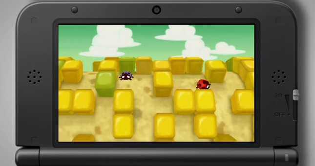 Professor Layton and the Miracle Mask Puzzle Gameplay Screenshot of Ladybug MiniGame